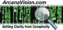 ArcanaVision Logo - Clear and easy to use websites.